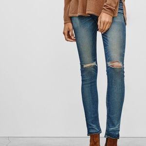Rag & Bone Jeans Skinny little Five Holes